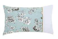 Joules Imogen Blue Pillowcase Pair