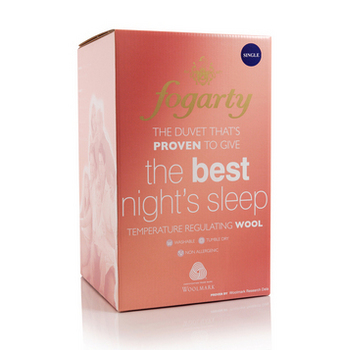Fogarty Best Night's Sleep Wool Duvet