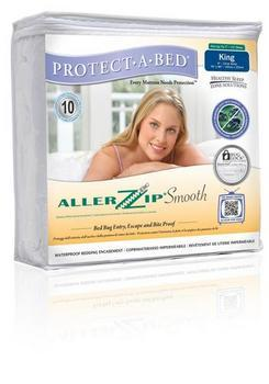 Protect a Bed AllerZip Smooth Mattress Encasement