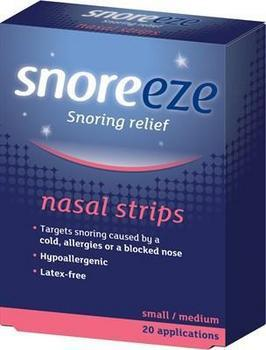 photo of Snoreeze Nasal Strips