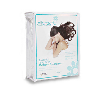 Allersafe Essential Anti Allergy Terry Mattress Encasement