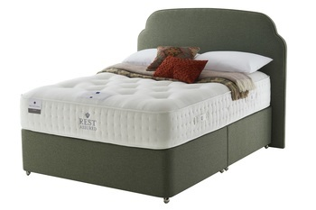 Rest Assured British Wool Firmer Comfort Sprung Edge Divan Set