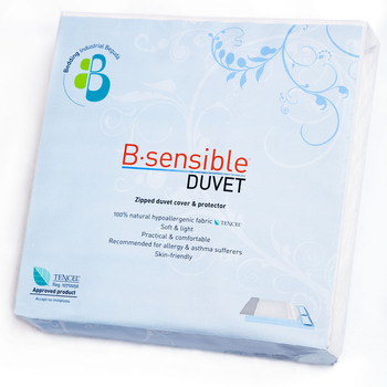 B Sensible Anti-Allergy Duvet Cover & Protector with Tencel