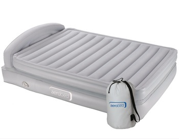 bd10ea888bd ... photo of Aerobed King Comfort Classic Air Bed Raised With Headboard