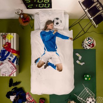Snurk Soccer Duvet Cover & Pillowcase