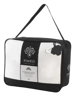 Nimbus Silver Collection 90% Hungarian Goose Down 10.5 Tog Duvet