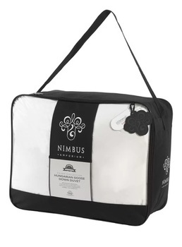 photo of Nimbus Silver Collection 90% Hungarian Goose Down 4.5 Tog Duvet