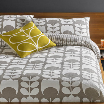 photo of Orla Kiely Tulip Mushroom Flannelette Bed Linen