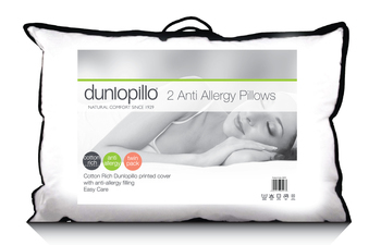 Dunlopillo Anti Allergy Pillow Pair