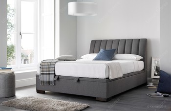 Kaydian Lanchester Ottoman Storage Bed artemis elephant grey