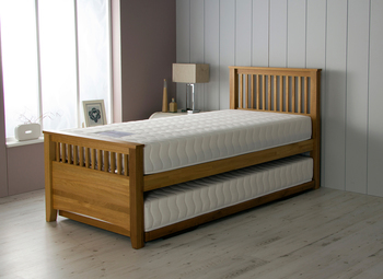 Hush From Airsprung Falmouth Guest Bed with 2x ViVo Mattresses