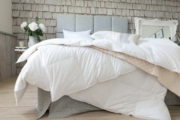 photo of The Fine Bedding Co Goose Feather & Down Four Seasons Duvet