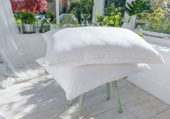 The Fine Bedding Co Breathe Pillow From