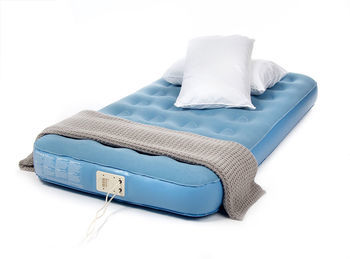 Aerobed Single Air Mattress with Built-in Electric Pump