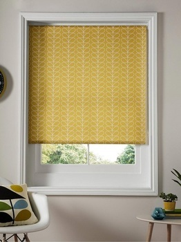 photo of Orla Kiely Linear Stem Roller Blind - Dandelion