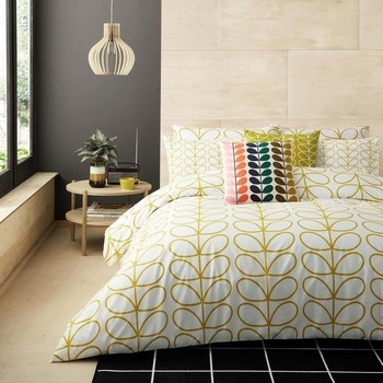 photo of Orla Kiely Linear Stem Duvet Cover Dandelion