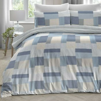photo of Dreams & Drapes Boheme Blue Duvet Set