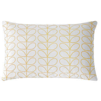 Orla Kiely Linear Stem Dandelion Housewife Pillowcase Pair
