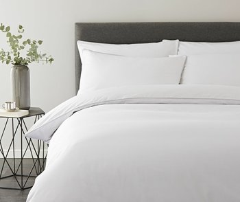 photo of Terence Conran Micro Check Duvet Cover Set
