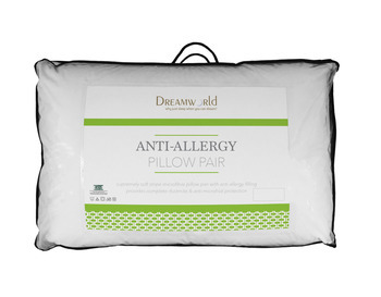 Dreamworld Anti-Allergy Luxury Pillow Pair