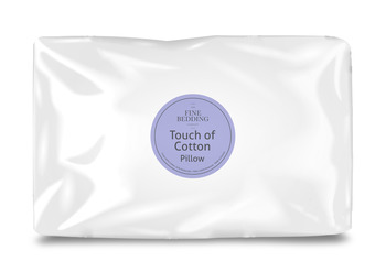 Fine Bedding Co Touch Of Cotton Pillow