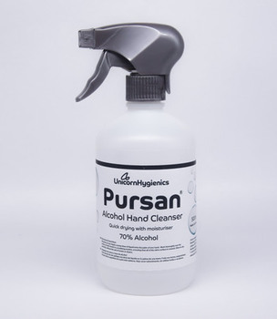 photo of Pursan 70% Alcohol Hand Cleanser 500ml with Moisturiser