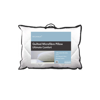 photo of Neuhaus Pillow Pair Quilted Microfibre