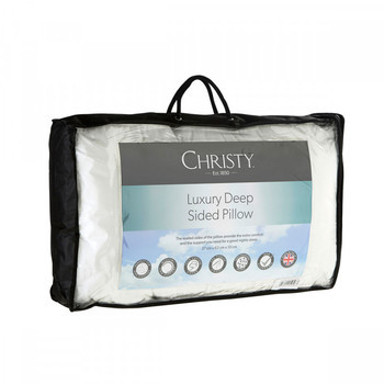 Christy Luxury Deep Sided Pillow Medium/Firm