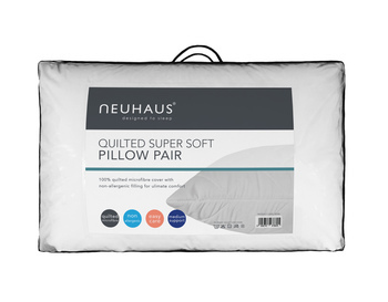 photo of Neuhaus Pillow Pair Quilted Super Soft