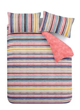 Accessorize Water Stripe Duvet Cover Set