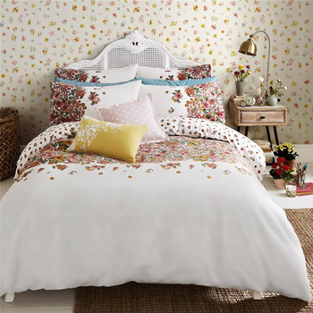 Cath Kidston Painted Bloom Brushed Cotton Bedding Set