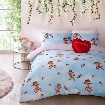 photo of SkinnyDip Cherub Duvet Cover Set