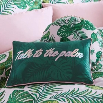 photo of SkinnyDip Talk to The Palm Jade Cushion