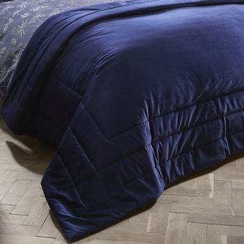 photo of Laurence Llewelyn-Bowen Chic Bedspread Navy