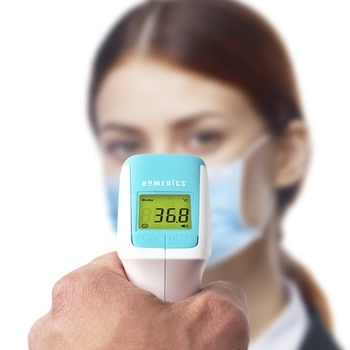 photo of Homedics Contactless Infrared Body Thermometer TE-350-EU
