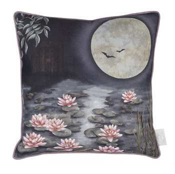 Angel Strawbridge Cushion Moonlit Lily Garden Dusk