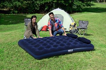 Bestway Airbed Queen & Manual Hand Pump
