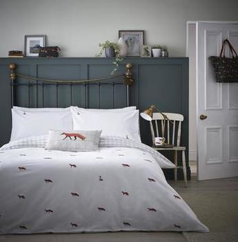 photo of Sophie Allport Foxes Duvet Cover Set Single