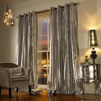 Kylie Minogue Iliana Curtains Praline Velvet 66x54