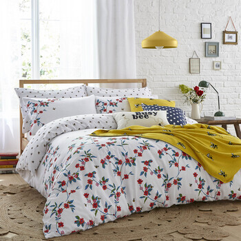 Cath Kidston Greenwich Flowers Duvet Cover Set Super King