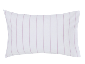 photo of Joules Cambridge Floral Creme Pink Striped Pillowcase Pair