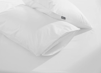 Fine Bedding Co Classic Cotton Pillow Protector with Viroblock