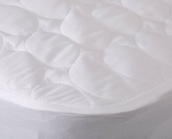 Fine Bedding Co Viroblock Quilted Mattress Protector Double