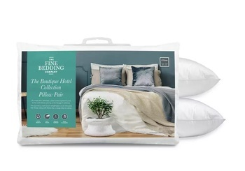Fine Bedding Co Boutique Hotel Collection Pillow Pair