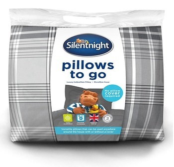 Silentnight Washable Printed Pillow Pair