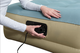 Bestway Refined Fortech Twin Airbed Built-In AC Pump