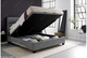 Kaydian Chilton Ottoman Storage Bed with Light & USB Port