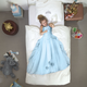 Snurk Princess Duvet Cover & Pillowcase Blue