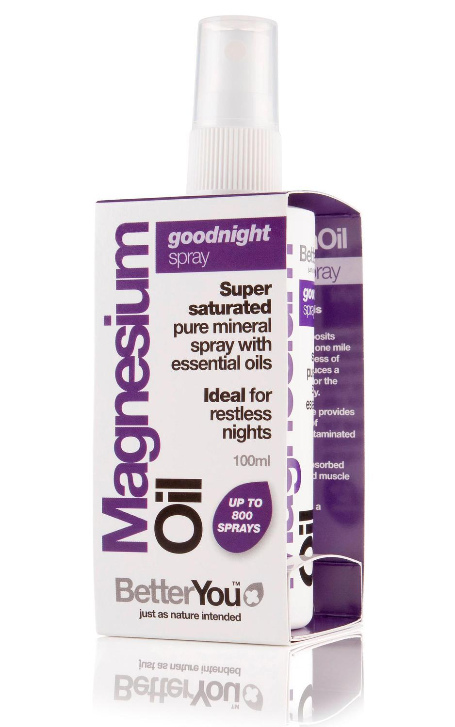 What is magnesium oil spray used for