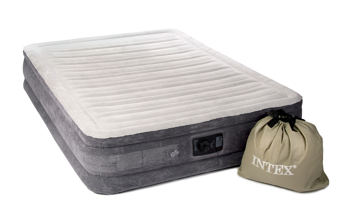Intex comfort plush inflatable air bed buy from for Where to buy a matress